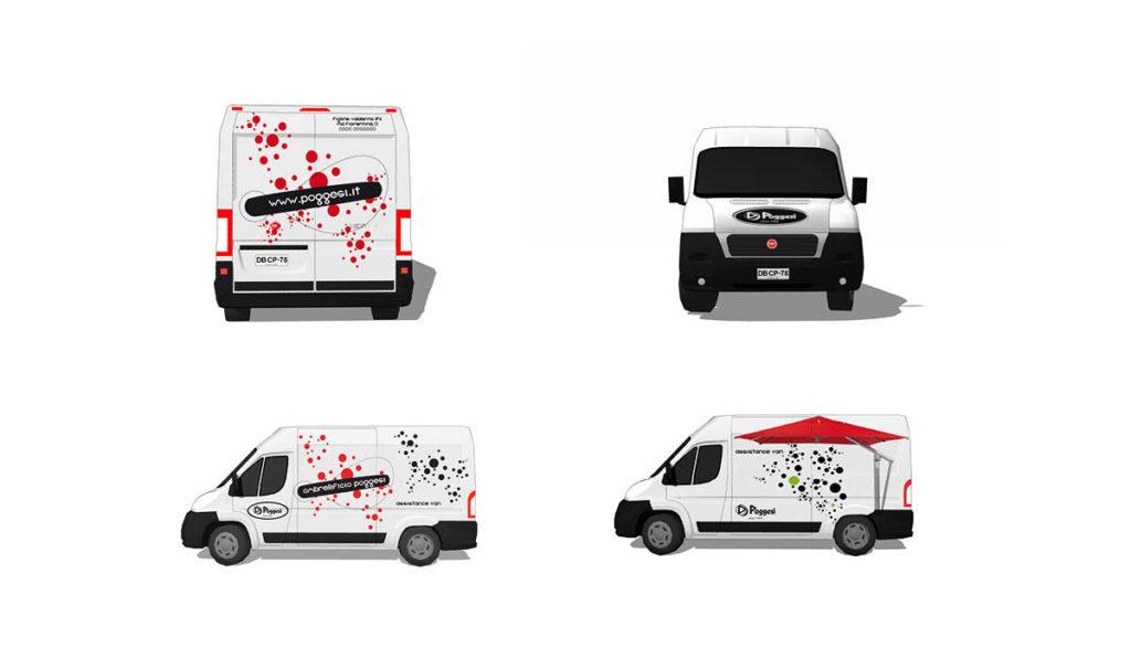serigrafia furgoni